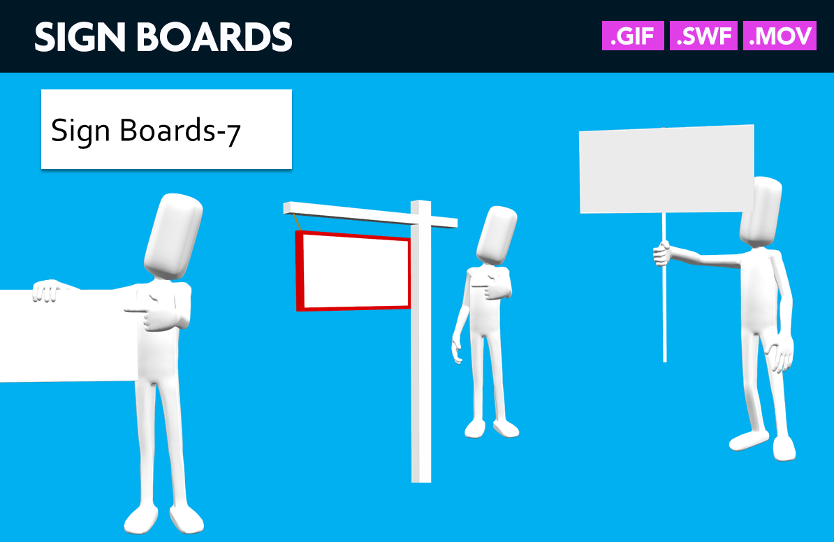 sign-boards